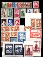 Sarre Belle Petite Collection Neufs ** MNH 1949/1955. Bonnes Valeurs. TB. A Saisir! - Saargebiet