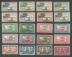 Wallis Et Futuna N°43 à 54A, 56A, 57, 58, 60, 63, 64 ET 62 Neufs Avec Charnière* Cote 29.80 Euros - Wallis And Futuna