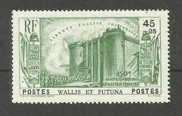Wallis Et Futuna N°72 Neuf Avec Charnière* Cote 21 Euros - Wallis And Futuna