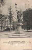 ST ETIENNE Place Badouillère Réduction De La Statue De Bartholdi à New York CPA - Saint Etienne