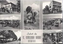 Saluti Da San Giuliano A Mare - Rimini - H4581 - Rimini
