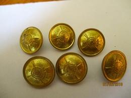 Ethiopie Bouton Uniforme De La Garde Impériale (Kabour Zabagna) - Vente à La Pièce - Buttons