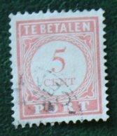 Port Postage Due 5 Ct NVPH P26 1913-1940 Gestempeld / Used NEDERLAND INDIE / DUTCH INDIES - Niederländisch-Indien