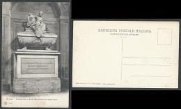 FIRENZE CARTOLINA MONUMENTO A NICOLO MACCHIAVELLI IN SANTA CROCE - C42 - Firenze