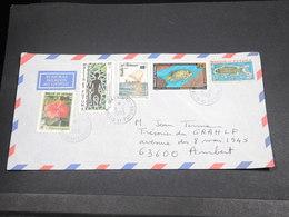 WALLIS & FUTUNA - Enveloppe De Mata Utu Pour Ambert En 1993 , Affranchissement Plaisant Et Varié - L 18693 - Covers & Documents