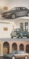 3 VOITURES   Cartes Privées 5000 Ex 1994 - Czech Republic