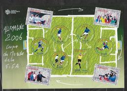 France 2006 Bloc Feuillet N° 97 Neuf Coupe Du Monde De Football à La Faciale - Blocs & Feuillets