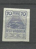 Estland Estonia 1919 Seagull Michel 11 MNH - Estonie