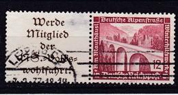 Deutsches Reich, ZD W 111, Gest. (T 6257) - Se-Tenant