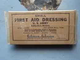 Pansement Américain FIRST AID DRESSING Nouvelle-Calédonie - 1939-45