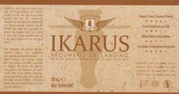 Etiket  - De Landing - Beer