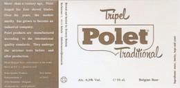 Etiket  - Boelens - Beer