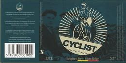 Etiket  - Boelens  Cyclist - Beer