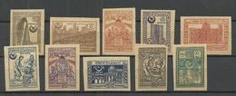 ASERBAIDSCHAN 1921 = 10 Werte Aus Satz Michel 13 - 27 - Azerbaïdjan
