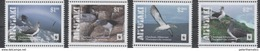 AITUTAKI, 2016,  MNH, WWF, BIRDS, ALBATROSS,  4v( STAMPS WITH WHITE BORDER) - Other