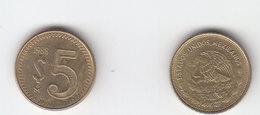 Mexico Coin 5 Pesos 1985  Mint Vg.cond. - Mexico