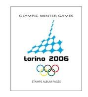Suplemento Filkasol TEMATICA OLYMPIC WINTER GAMES TORINO 2006 - Montado Con Filoetuches HAWID Transparentes - Álbumes & Encuadernaciones