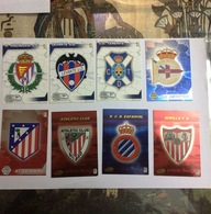 PANINI-CARTE FOOTBALL- JOUEURS-R.VALLADOLID-LEVANTE UD-TENERIF- AT DE MADRID-RCD ESPANYOL-DEPORTIVO-SEVILLA-ATHLETIC - Panini