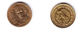 Mexico Coin 20 Pesos Guadalupe Victoria President Of Mexico 1985 Mint Vg.cond. - Mexico