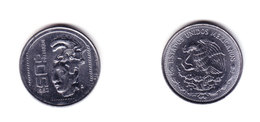 Mexico Coin 50 Pesos Palenque Culture 1983 Mint Vg.cond. - Mexique