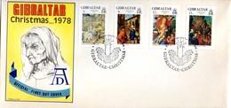 Carta De Gibraltar De Navidad De 1978 - Gibilterra