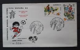 ESPAÑA SPD - FDC Football World Cup - Spain (1982). BARCELONA. - 1982 – Spain