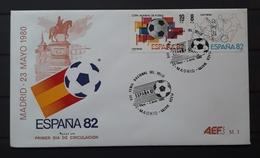 ESPAÑA SPD - FDC Football World Cup - Spain (1982). MADRID. - 1982 – Spain