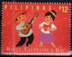 PHILIPPINES, 2018, MNH, VALENTINE'S DAY, GUITARS, 1v - Other