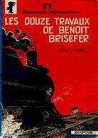 B.D. BENOIT BRISEFER - LES DOUZE TRAVAUX DE BENOIT BRISEFER -   1977 - Benoît Brisefer