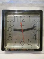 Milvox Orologio Parete Anni 80 Con Movimento Originale - Clocks