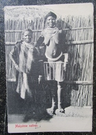 Afrique Sud Makatese Natives Cpa - Afrique Du Sud
