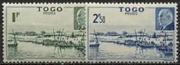 Togo, N° 215 à N° 216* Y Et T - Ungebraucht