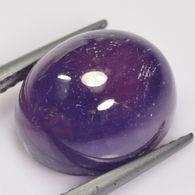 Saphir - 9,63 Ct - Violet Bleu Profond - Saphir