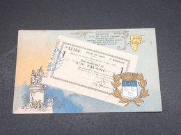 CARTE POSTALE - Représentation De Billet De Nécessité De Laon - L 18741 - Monete (rappresentazioni)