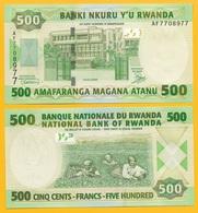 Rwanda 500 Francs P-34 2008 UNC - Rwanda