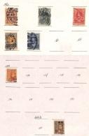 [701954] O/Used-Siam 1919 - N° 135, Petit Lot Sur Feuille, Sujet Divers, Victoire, Roi Vajiravudh - Siam