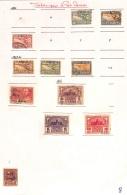 [701956] O/Used-Siam 1925 - N° 213, Petit Lot Sur Feuille, Sujet Divers, Poste Aériennes - Siam