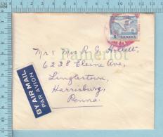 Canada -  1968,   The Senate  Envelope, The Senate Canada Crest At Back - 1952-.... Règne D'Elizabeth II