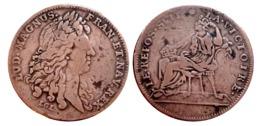 Beau Jeton LOUIS XIV LE REPOS SVIT LA VICTOIRE A VOIR!!! - Royal / Of Nobility