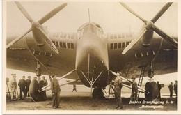 Aviation - Avion Junkers Grossflugzeug G.38 - Dübendorf - 1929 - Rare - 1919-1938