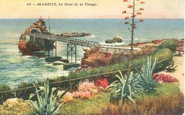 (64) Pyrénées-Atlantiques - CPA - Biarritz - Le Pont De La Vierge - Biarritz