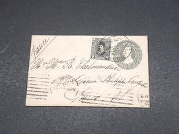 EGYPTE - Entier Postal + Complément Du Caire Pour Paris - L 18764 - Oblitérés