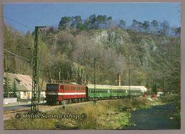 BRD - AK - Rübelandbahn - E-Lok E 251 Personenzug In Rübeland - Eisenbahnen