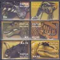 Papouasie Papua New Guinea 2004 Yvert 969-974 *** MNH Cote 13,50 Euro Faune Préhistorique - Papouasie-Nouvelle-Guinée
