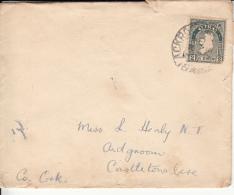 Ireland 1925 Cover Franked Scott #68 - 1922-37 État Libre D'Irlande