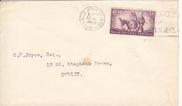 Ireland 1960 Cover To Dublin Scott #173 3p Flight Of The Holy Family - 1949-... République D'Irlande