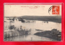 27-CPA PORT-MORT - INONDATION DE JANVIER 1910 - CRUE DE LA SEINE - Autres Communes