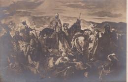 """TABLEAU """" Après Le Combat """" De Théodore CHASSERIAU ( Troupes Arabes Récupérant Ses Blessés Et Ses Morts ) - Andere Kriege"""