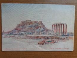 Griekenland - Greece / Athènes, Vue D'Acropole --> Unwritten - Grèce