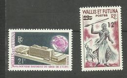Wallis Et Futuna N°176, 177 Neufs** Cote 6.40 Euros - Nuevos
